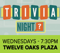 Trivia Night at Twelve Oaks Plaza