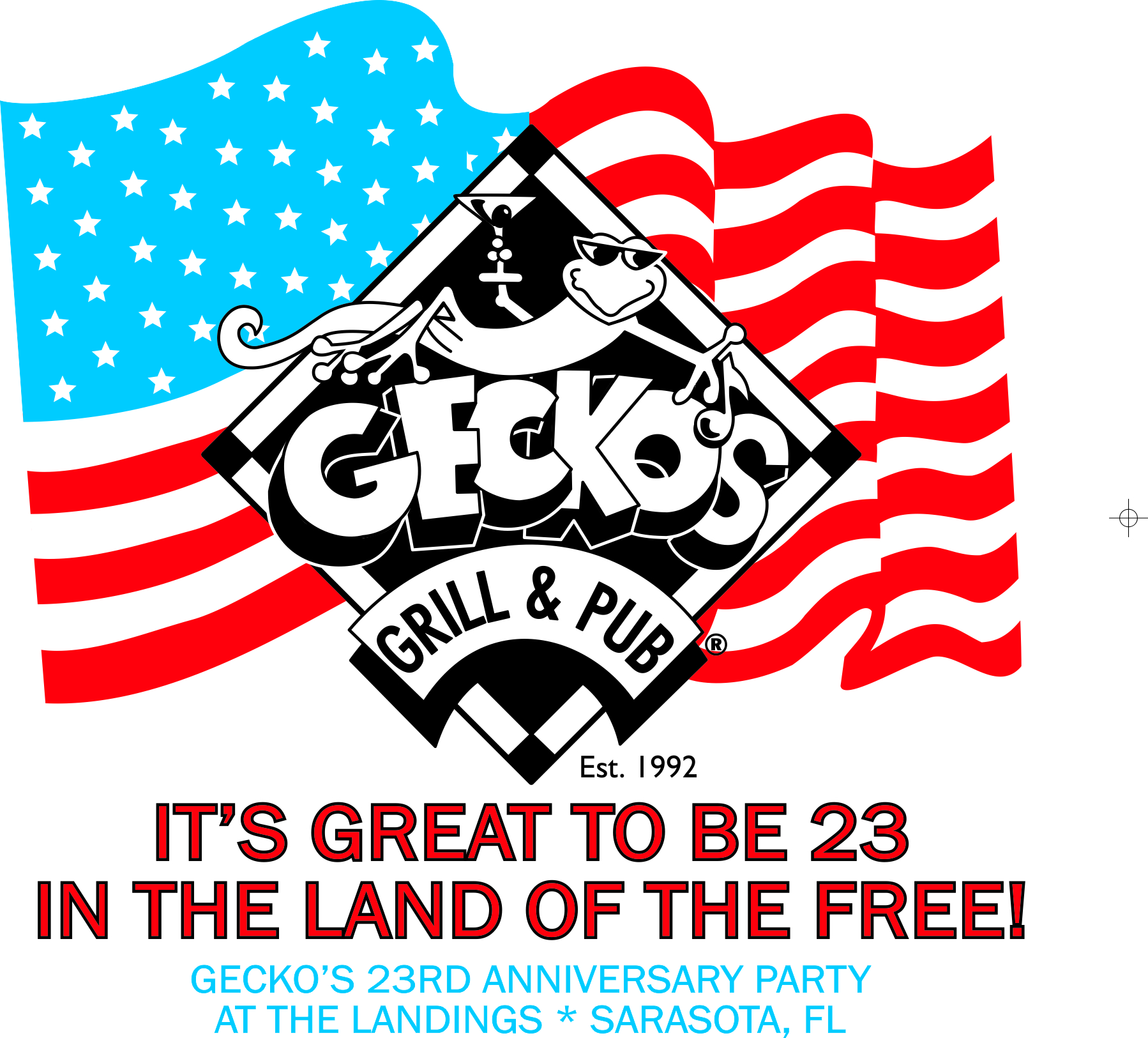 Gecko's 23rd Anniversary BBQ Party at the Landings!