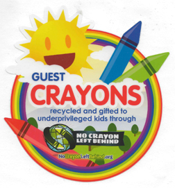 No Crayon Left Behind