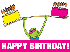 Celebrate your Birthday at Gecko's!